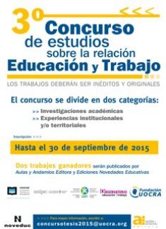 3er Concurso de estudios sobre relación Educación y Trabajo